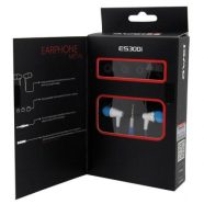 Hands Free Stereo Awei ES300i Apple iPhone 6 3.5mm με Πλακέ Καλώδιο & Μικρά Ακουστικά Μπλε