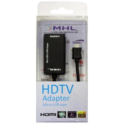 Kαλώδιο Σύνδεσης HDMI MHL Micro USB 5pin