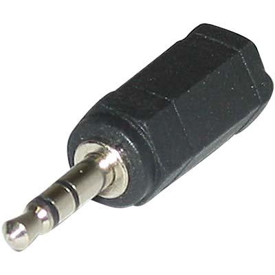 AC-025 3.5mm ST PLUG TO 2.5mm ST PLUG