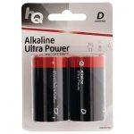 HQLR20/2ΤΕΜ Alkaline D battery 2-blister
