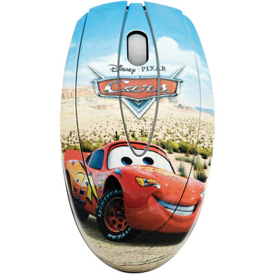 "DSY MO111 ""CARS"" OPTICAL MOUSE USB"