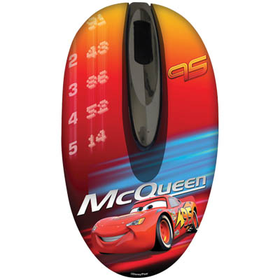 "DSY MM230 ""CARS"" MINI OPTICAL MOUSE USB"