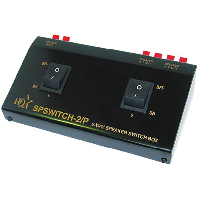 SP SWITCH-2/P 2WAY SPEAKER CONTROL BOX