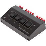 PRE SWITCH-4 4-way speaker control box