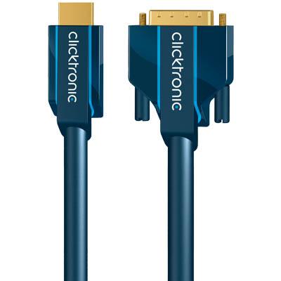 70348/20.00m CLICK CASUAL HDMI ΑΡΣ. - DVI-D DUAL ΑΡΣ.