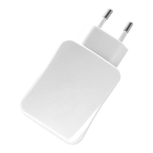 Φορτιστής Ταξιδίου inos για Tablets με Διπλή Έξοδο USB Λευκό 4200mAh