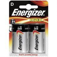 ENERGIZER D-LR20/2TEM ΜΑX ALKALINE F016425