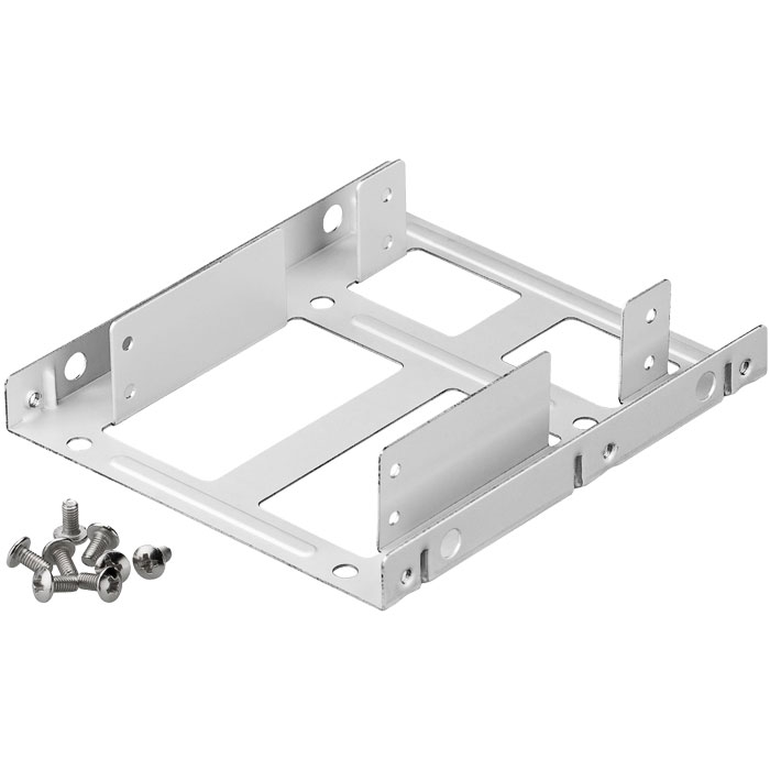 95875 SLOT 2.5 to 3.5 HDD MOUNTING KIT 2 BAY