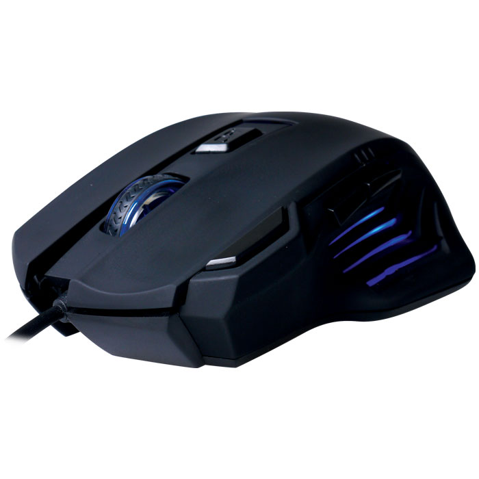 G-MSE-2S NOD GAMING MOUSE BLACK RUBBER 2400DPI