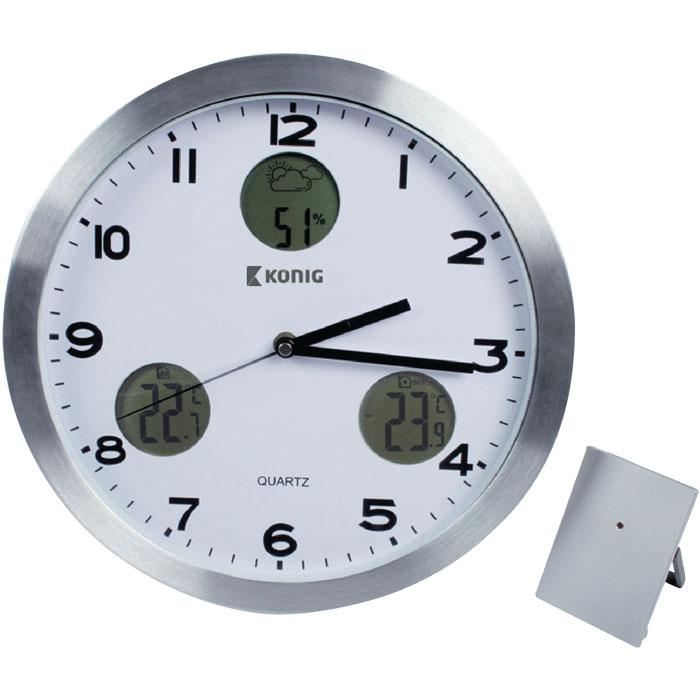 165d9e94ea Επιτοίχιο ρολόι – μετεωρολογικός Σταθμός