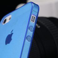 Θήκη Ultra Thin TPU mJoy Apple iPhone 5 : iPhone 5S : iPhone SE - Μπλέ